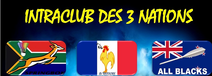 L'intraclub des 3 nations