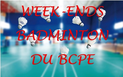 Week-ends badminton
