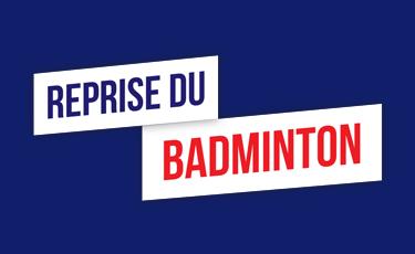 Reprise du badminton (V2)
